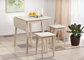 Стол раскладной массив 750х450 (750х900) мм, Боровичи мебель