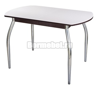 Стол кухонный Румба ПО КМ 110х70, с ножкой 01