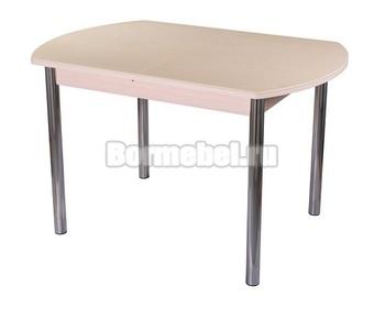 Стол кухонный Румба ПО КМ 110х70, с ножкой 02