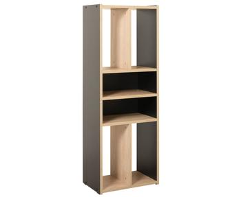 Базис 3, Стеллаж 09.134, 422х261х1153 мм, Моби мебель