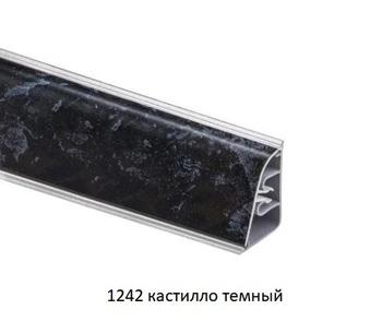 Плинтус пристеночный AP850 с завалом, 1242 Кастилло темный  (цена за 3 пог. м)