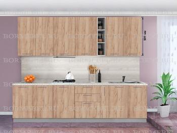 Кухонный гарнитур Классика 2300 (выс 900 мм), 1 категория, Боровичи мебель