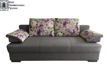 Диван-кровать Лира 1400 мм с блоком независимых пружин, Боровичи мебель