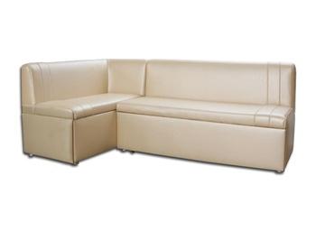 Кухонный угловой диван Уют со спальным местом Левый (2030х1120), Боровичи Мебель