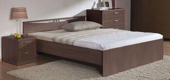 Кровать Мелисса 900 с одной спинкой без ящиков (без матраца) - Боровичи мебель