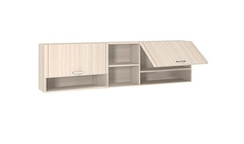 9.05  Шкаф-стеллаж настенный 2100х285х580 серия Лотос, Боровичи мебель