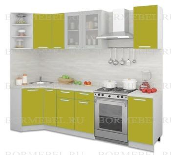Кухня Трапеза Классика угловая 900х2100, 2 категория, Боровичи мебель