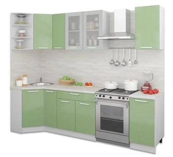 Кухня Трапеза Классика угловая 900х2100, 1 категория, Боровичи мебель