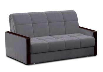 Диван-кровать Аккордеон 1500 с декором С ЯЩИКОМ, Боровичи мебель