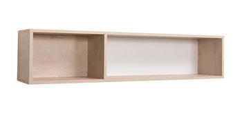 Альба 2, Полка 10.121, 1252х245х272 мм, Моби мебель