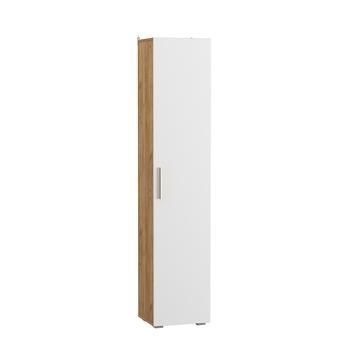 Альба, Шкаф-пенал, 400х361х1916 мм, Моби мебель
