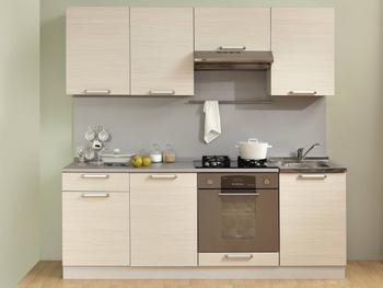 Кухня Симпл 2100 мм, 1 категория, Боровичи мебель