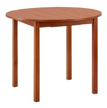Стол раздвижной с круглой крышкой 900x900 (900х1200) мм, Боровичи мебель