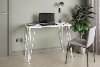 Базис 4, Стол компьютерный 12.81, 1000х550х730 мм, Моби мебель