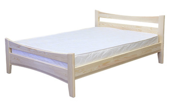 Кровать Массив-3  1200 мм, (без матраца), Элегия, Боровичи