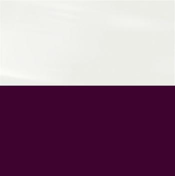 Фасад Белый Глянец / Баклажан глянец, МДФ/ПВХ