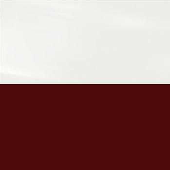 Фасад Белый Глянец / Бордовый глянец, МДФ/ПВХ