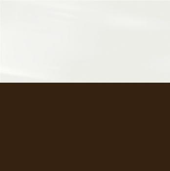 Фасад Белый Глянец / Шоколад глянец, МДФ/ПВХ