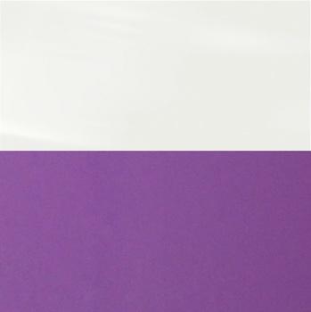 Фасад Белый Глянец / Виолетта глянец, МДФ/ПВХ