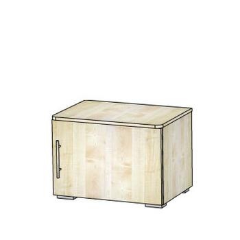 1.01 Тумба однодверная 600х400х430, Блюз МДФ Рамка/ЛДСП, Элегия, Боровичи