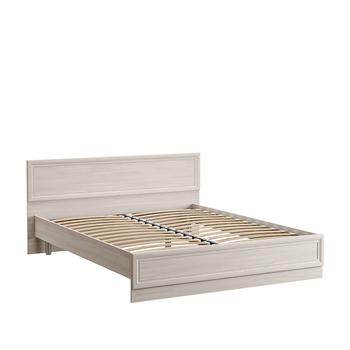 Бьянка, Кровать двойная 01.36  140, 1524х2060, В 853 мм, Моби мебель