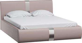 Кровать Челси 1600 кожзам бежевый (без матраса), Нижегородмебель