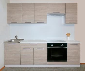 Кухня Трапеза Классика 1700 с глухими фасадами, 2 категория, Боровичи мебель