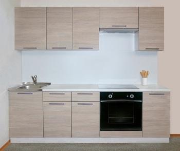 Кухня Трапеза Классика 1700 с глухими фасадами, 1 категория, Боровичи мебель