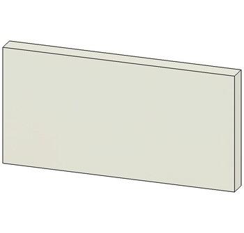 Цоколь ЛДСП, 200х16х100, Лопасня мебель