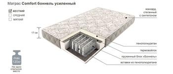 Матрац COMFORT боннель усиленный, 900х2000, Боровичи мебель