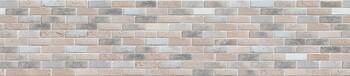 Стеновая панель МДФ 3050х610х6мм, Кирпич гранж бежевый