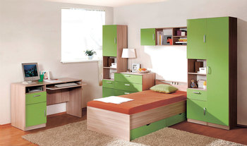 Детская Лотос, вариант № 1, Боровичи мебель