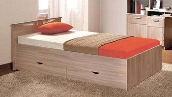 Кровать Мелисса 800 с ящиками, Боровичи мебель