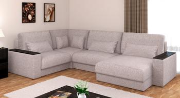 Норд, модульный угловой с боковинами с ящиком диван Боннель, Боровичи мебель