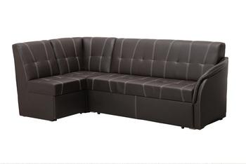 """Кухонный угловой диван со спальным местом в стежке """"Релакс"""" Левый (2400х1200), Боровичи мебель"""