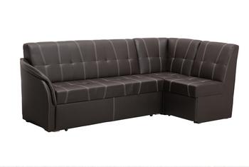 """Кухонный угловой диван со спальным местом в стежке """"Релакс"""" Правый (2400х1200), Боровичи мебель"""