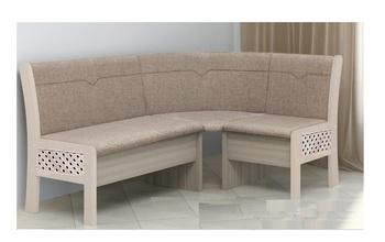 """Кухонный угловой диван """"Этюд"""" 2-1 с решеткой (1180х1580), Боровичи мебель"""