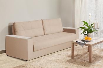 Диван-кровать Норд с боковинами с ящиком 1500 мм, Боровичи мебель