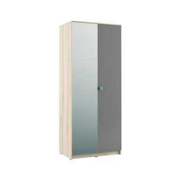 Доминика 451/02, Шкаф 2-х дверный, 898 х 600, В 2180 мм, Моби мебель