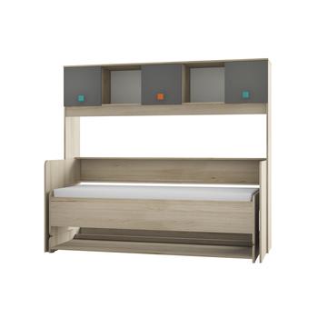 Доминика 465, Кровать-трансформер, 1990 х 1005/945, В 1756 мм, Моби мебель