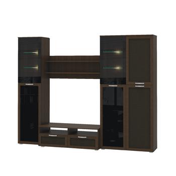 Домино 2 Стенка, 2658 х 516, В 2102 мм, Моби мебель
