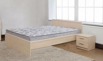 Кровать Мелисса Дрим без ящиков 1600х2000, Боровичи мебель