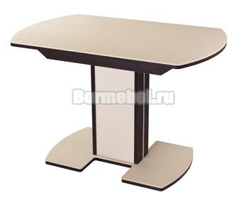 Стол кухонный Румба ПО КМ 110х70, с ножкой 05