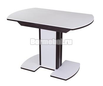Стол кухонный Румба ПО-1 КМ 120х80, с ножкой 05-1