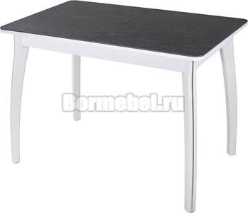 Стол с керамогранитом Диско ПР 70х110(147)х75 КРМ 84 07 ВП БЛ