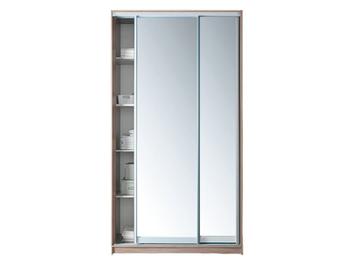 Шкаф-купе 1200, 2-х дверный с 2-мя зеркалами, Боровичи мебель
