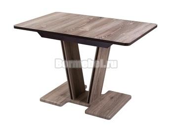 Стол кухонный раздвижной Джаз ПР 110х70, с ножкой 03