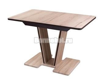 Стол кухонный раздвижной Джаз ПР-1 120х80, с ножкой 03-1