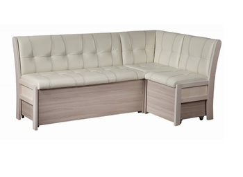 """Кухонный угловой диван Этюд со спальным местом в стежке """"Релакс"""" (2050х1220), Боровичи мебель"""