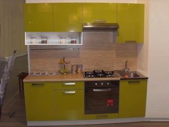 Кухня Симпл 2100 мм с нишей, 2 категория, Боровичи мебель